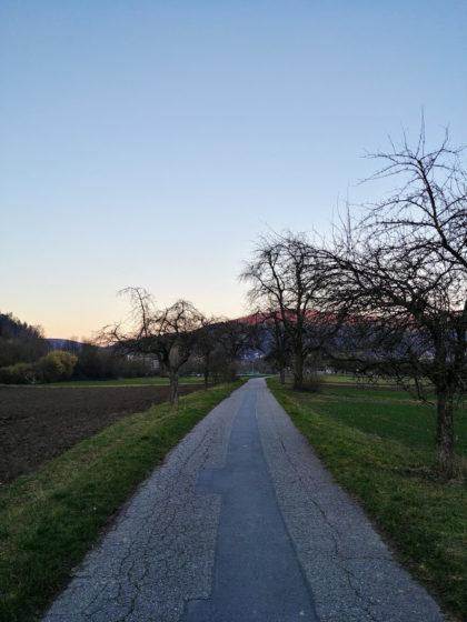 Kurz vor Eberbach