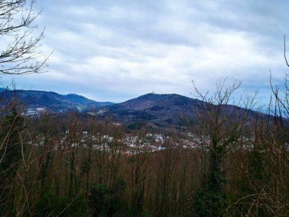 Blick über den Nordschwarzwald