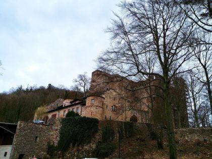 Das Alte Schloss hieß früher Schloss Hohenbaden und ist damit Namensgeber des historischen Landes Baden