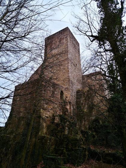 Letzter Blick aufs Schloss