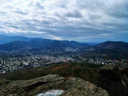 Der mit Abstand schönste Panoramablick des Tages