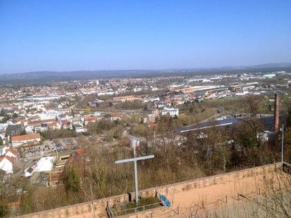 Blick über Homburg