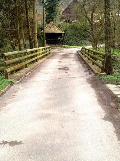 Kleine Brücke in Reuenthal