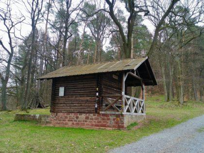 Hütte oberhalb von Amorbach