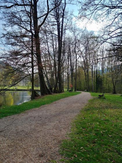 Abschluss im Seegarten Amorbach