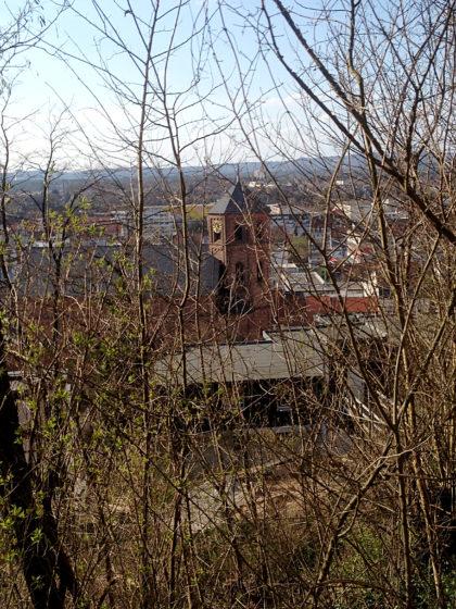Blick von oben auf St. Michael
