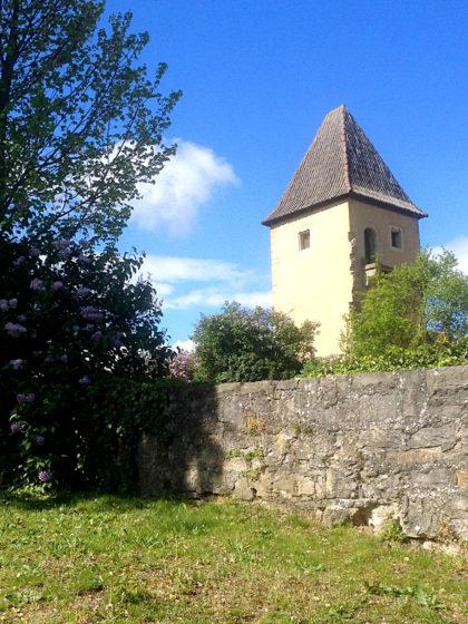 Der Pulverturm, ebenfalls Teil der ehemaligen Stadtbefestigung