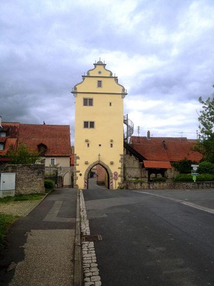 Das Mühltor in Frickenhausen