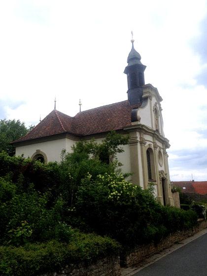Die Kreuzkapelle in Sulzfeld