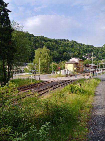 Bahnsteig Laurenburg