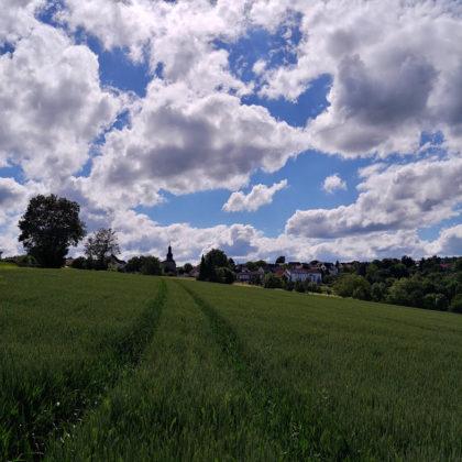 Das kleine Dorf Dörnberg
