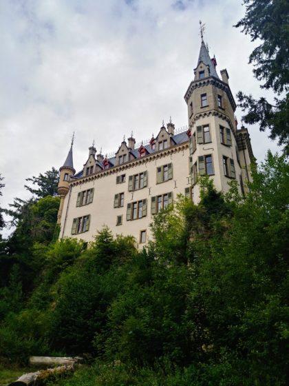 Schloss Meysemburg, das sich in privater Hand befindet und nicht für Besucher geöffnet ist