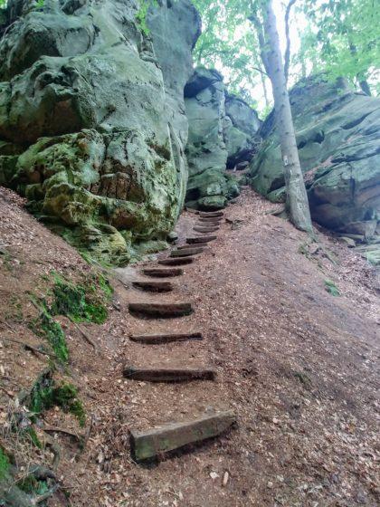 Ein Felsen folgt auf den nächsten