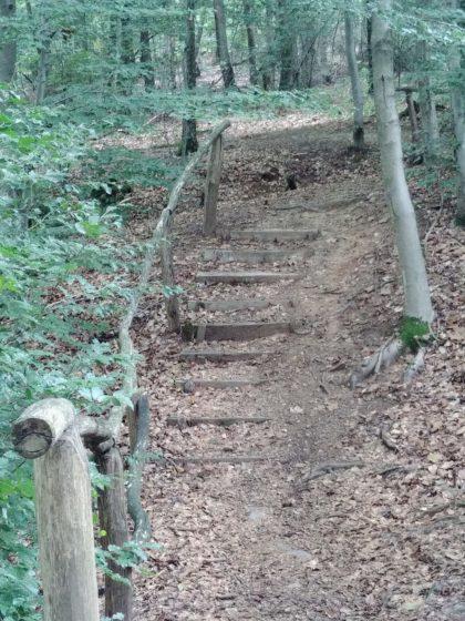 Wieder so eine Treppe