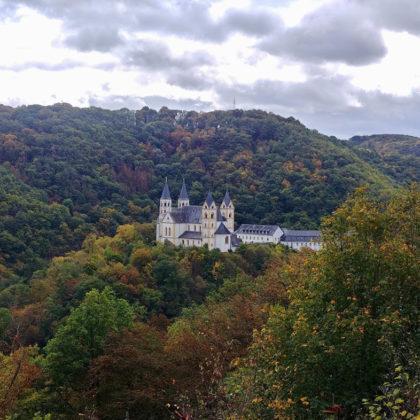 Erster Aussichtspunkt, wieder Kloster Arnstein