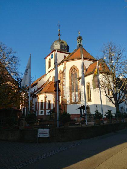 Simultankirche St. Georg in Wachenheim
