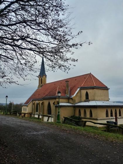 Die Kirche in Leiding