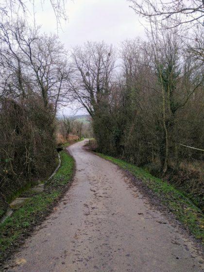 Die letzten beiden Kilometer