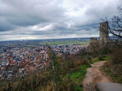 Zurück bei der Strahlenburg