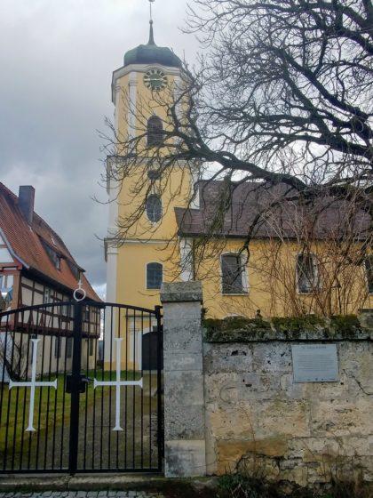Die St.-Vitus-Kirche in Türkheim