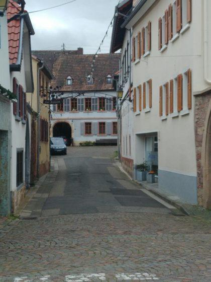 Leere Straßen im Hambach