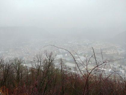Nebel über Geislingen