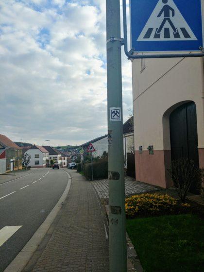 In Hasborn; von hier an orientiere ich mich am Warken-Eckstein-Weg