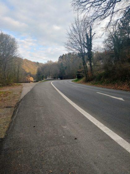 So richtig prickelnd ist der Warken-Eckstein-Weg auf den ersten Kilometern nicht