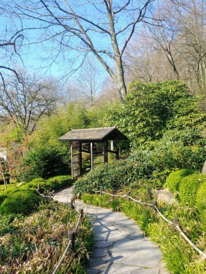 Der Asiatische Garten ist eine von mehreren Gartenanlagen auf dem Finkenrech