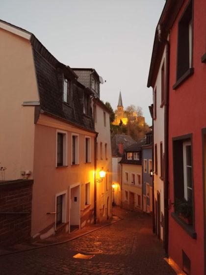 Gasse Saarburg