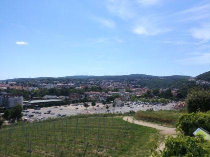 Blick auf Bad Dürkheim