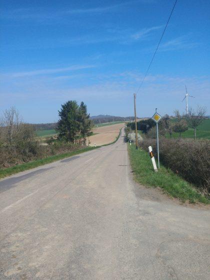Auf dem Heimweg