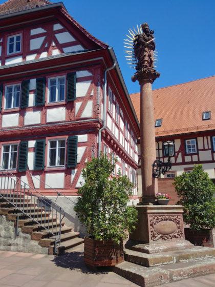 Mariensäule Amorbach