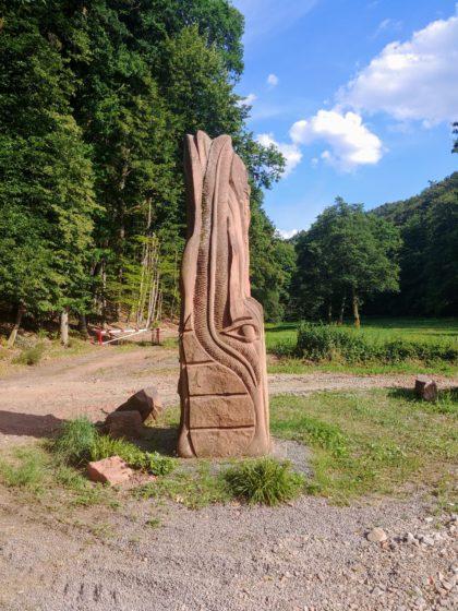 An diese Skulptur erinnere ich mich noch genau von meiner ersten Tour hier vor vier Jahren
