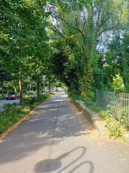 Schon in Kesselstadt in der Philippsruher Allee