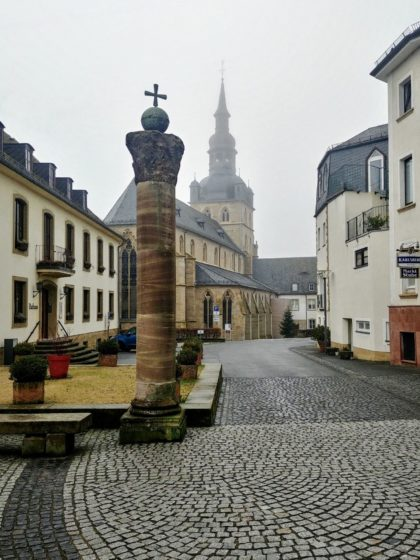 Es handelt sich um die wohl älteste Abtei Deutschlands