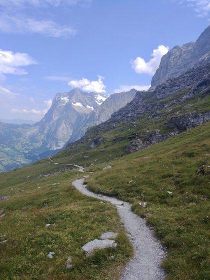 Der Eigertrail in der Schweiz/Jana