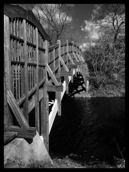 """""""Brücken sind die besten Wege, denn sie verbinden""""/Laute(r) Natur"""