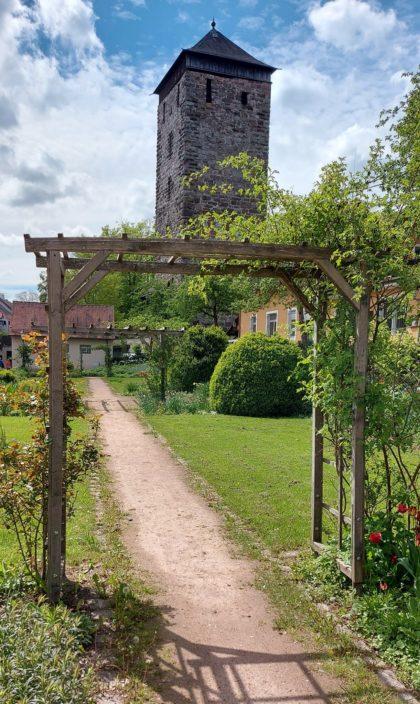 Spitalgarten in der Altstadt von Villingen-Schwenningen/T@njaM