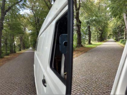 Unterwegs auf der ehemaligen F 96, der längsten Fernverkehrsstraße der DDR/Katkies