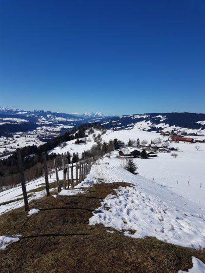 Vom Paradies nach Oberstaufen/Carmen