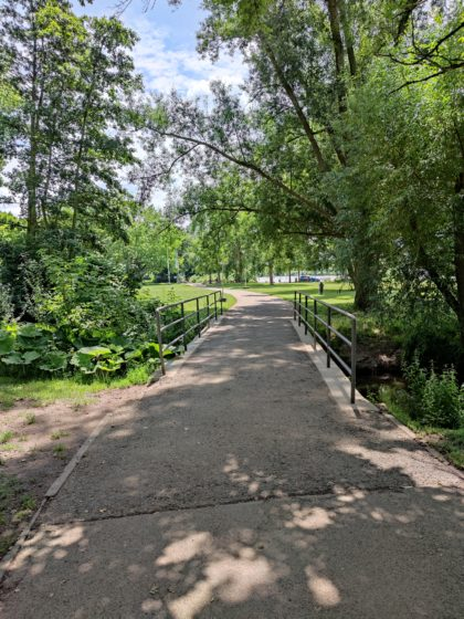 Uferpromenade am Neckar