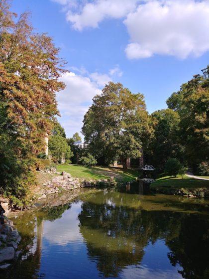 Schlossgarten Schwetzingen/Foto von Jana