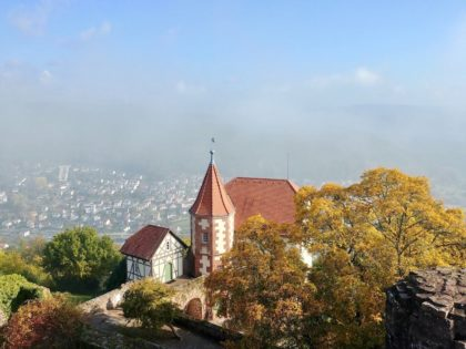 Burgfeste Dilsberg/Foto von Jana