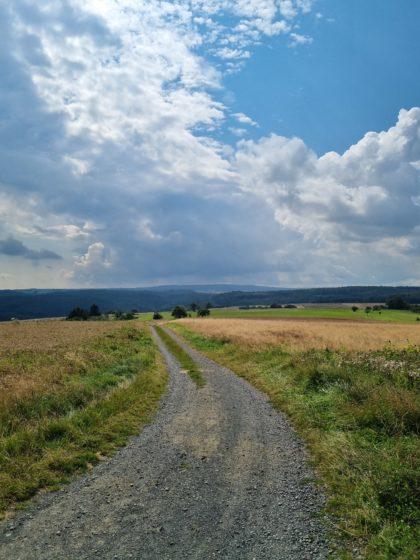 Blick Richtung Hochtaunus