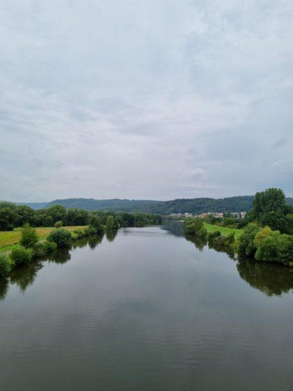 Nächster Uferwechsel bei Besseringen