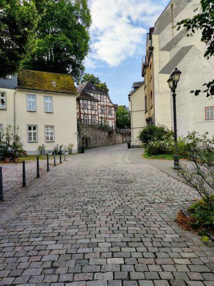 Auf dem Weg zum Eisenmarkt in der Altstadt von Wetzlar