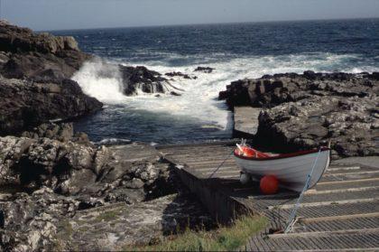 Auf den Shetland-Inseln (2002)/Foto von Christine R. Auer