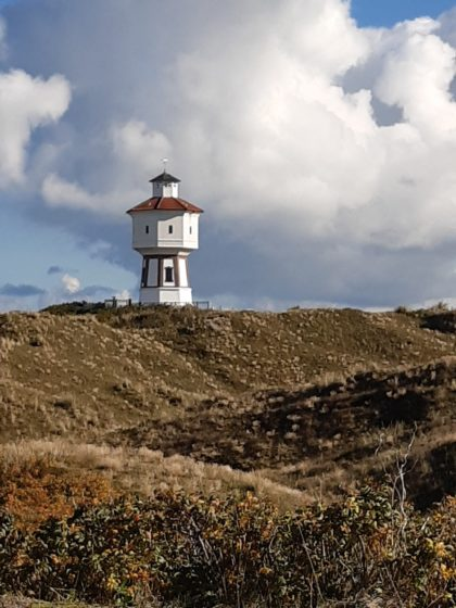 Wasserturm auf Langeoog/Foto von Kaschewi